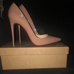 Never worn Louboutins